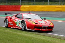 #59 Luxury Racing Ferrari 458 Italia: Frédéric Makowiecki, Jaime Melo