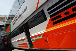 Sahara Force India F1 Team transporter