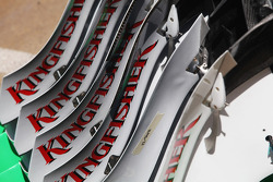 Sahara Force India F1 VJM05 front wing parts