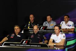 The FIA Press Conference: Mark Smith, Caterham F1 Team Technical Director