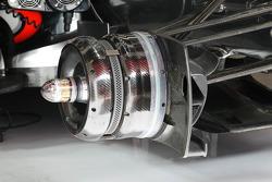 McLaren MP4/27 brake