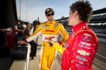 Ryan Hunter-Reay, Andretti Autosport Chevrolet and Sebastian Saavedra, AFS Racing/Andretti Autosport Chevrolet