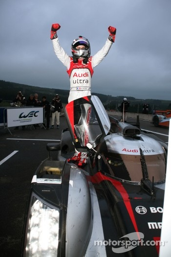 Race winner Romain Dumas
