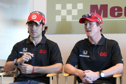 Dario Franchitti, Scott Dixon, Target Chip Ganassi Racing