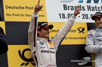 Podium: second place Bruno Spengler, BMW Team Schnitzer BMW M3 DTM