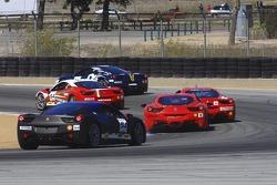 Race start #94 Ferrari of Tampa Bay Racing Ferrari 458 Challenge: Allan Marshall