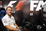 Sam Bird, Mercedes AMG F1 Test And Reserve Driver at the Fanzone