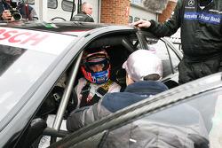 Jenson Button, McLaren Mercedes, Gary Paffett, Team HWA AMG Mercedes, AMG Mercedes C-Coupe