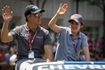 Indy 500 festival parade: Jean Alesi, FP Journe  Fan Force United Lotus