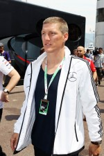 Bastian Schweinsteiger, Football Player in the paddock