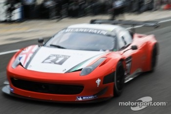 #21 Mtech Ferrari 458 Italia: Duncan Cameron, Matt Griffin