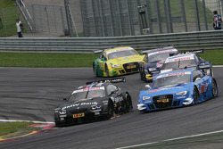Bruno Spengler, BMW Team Schnitzer BMW M3 DTM and Filipe Albuquerque, Audi Sport Team Rosberg, Audi A5 DTM