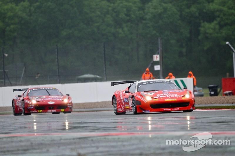 #71 Kessel Racing Ferrari 458 Italia: Stefano Gattuso, Davide Rigon, Daniel Zampieri
