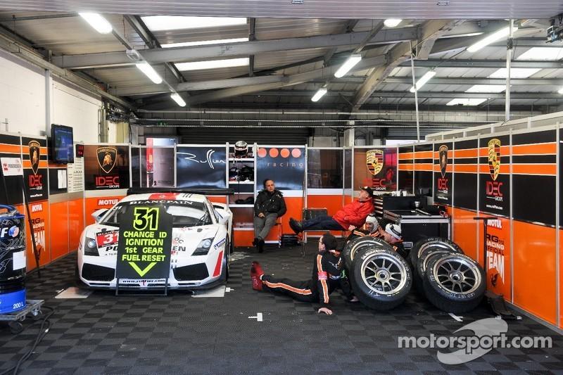 #31 Ruffier Racing Lamborghini Gallardo LP520+: Romain Brandela, Georges Cabennes, Fabien Thuner