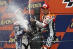Podium: second place Dani Pedrosa, Repsol Honda Team
