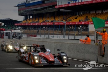 Start of the session: #43 Extreme Limite Aric Norma MP 2000 Judd: Fabien Rosier, Philippe Thirion, Philippe Haezebrouck