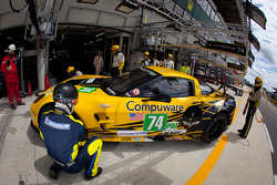 #74 Corvette Racing Chevrolet Corvette C6 ZR1: Oliver Gavin, Tom Milner, Richard Westbrook