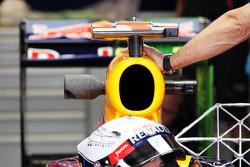 Sensor equipment on the Red Bull Racing of Sebastian Vettel, Red Bull Racing