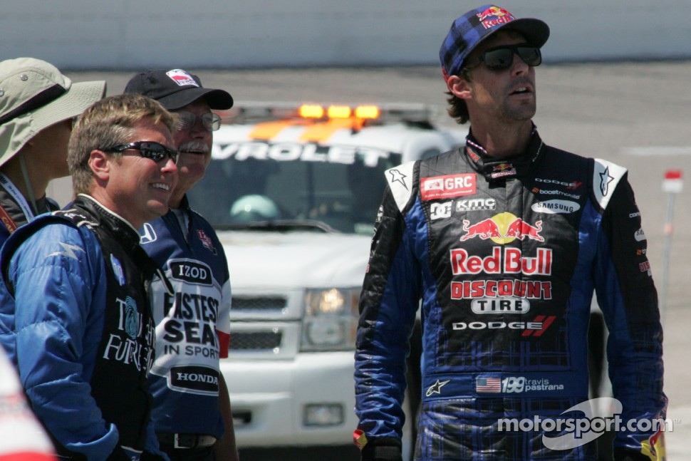 Davey Hamilton and Travis Pastrana