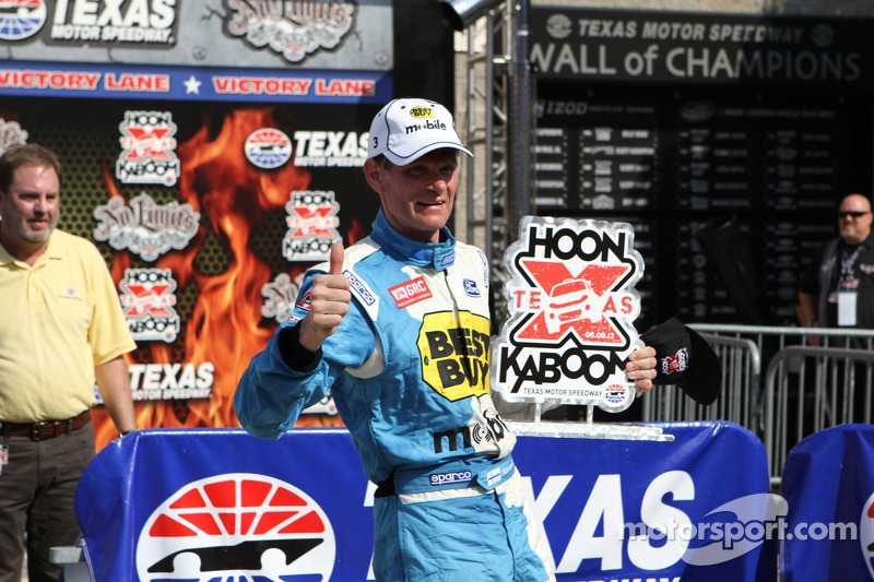 Race winner Marcus Gronholm