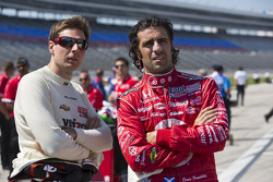 Will Power, Team Penske Chevrolet and Dario Franchitti, Target Chip Ganassi Honda