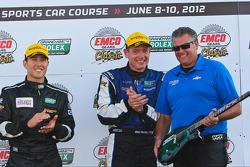 Race winners Michael Valiante, Richard Westbrook