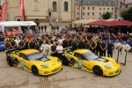 #73 Corvette Racing Chevrolet Corvette C6 ZR1: Jan Magnussen, Antonio Garcia, Jordan Taylor, #74 Corvette Racing Chevrolet Corvette C6 ZR1: Oliver Gavin, Tom Milner, Richard Westbrook