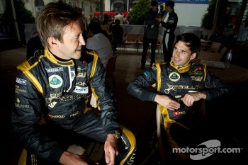 Harold Primat and Neel Jani