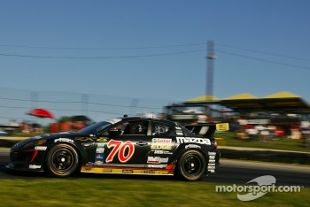 #70 SpeedSource Mazda RX-8: Sylvain Tremblay, Jonathan Bomarito