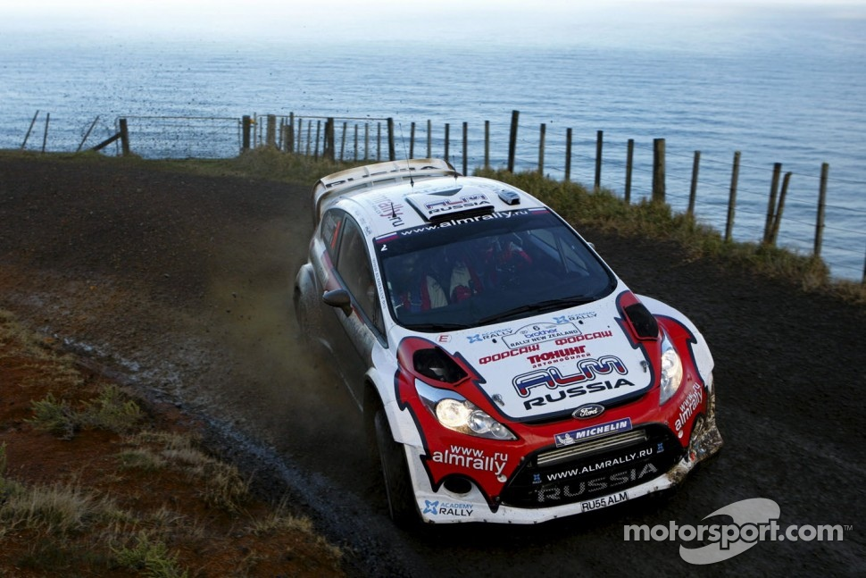 Evgeney Novikov and Ott Tänak, Ford Fiesta RS WRC