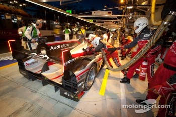 #4 Audi Sport North America Audi R18 Ultra: Oliver Jarvis, Marco Bonanomi, Mike Rockenfeller
