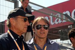 Jo Ramirez and Adrian Fernandez