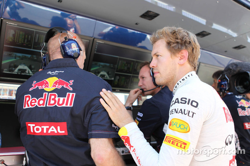 Sebastian Vettel, Red Bull Racing retired from the race