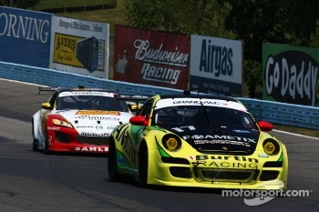 #17 Burtin Racing with Goldcrest Motorsports Porsche GT3 Foametix: Claudio Burtin, Martin Ragginger 