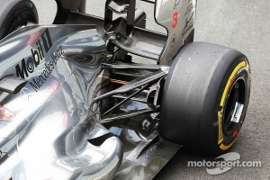 McLaren rear suspension detail