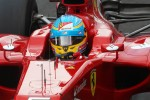 Fernando Alonso, Ferrari wears a star on his helmet for Maria De Villota, Marussia F1 Team Test Driver