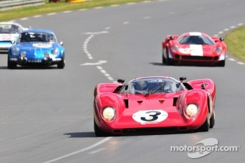 #3 Ferrari 312P: David Franklin
