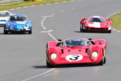 #3 Ferrari 312P: David Franklin