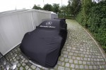 The Car of David Coulthard, Mcke Motorsport, AMG Mercedes C-Coupe sits in the paddock
