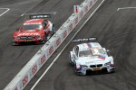 Sunday Round of 16 Martin Tomczyk, BMW Team RMG BMW M3 DTM against Robert Wickens, Mcke Motorsport AMG Mercedes C-Coupe