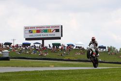#68 Triumph Daytona 675: Dustin Dominguez