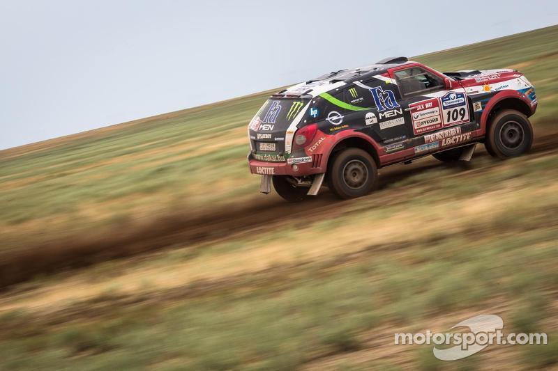 Balazs Szalay, Opel Dakar Team