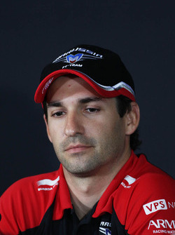 Timo Glock, Marussia F1 Team in the FIA Press Conference