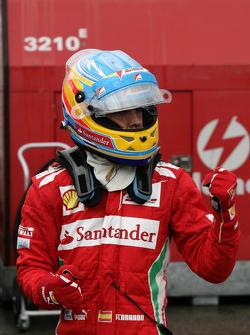Pole position for Fernando Alonso, Scuderia Ferrari