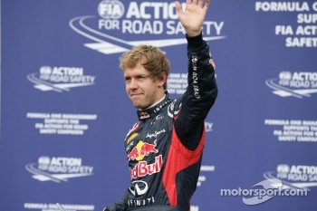 Second place qualifying Sebastian Vettel, Red Bull Racing