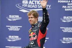 Second place qualifying Sebastian Vettel, Red Bull Racing