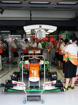 The Sahara Force India F1 of Paul di Resta, Sahara Force India F1