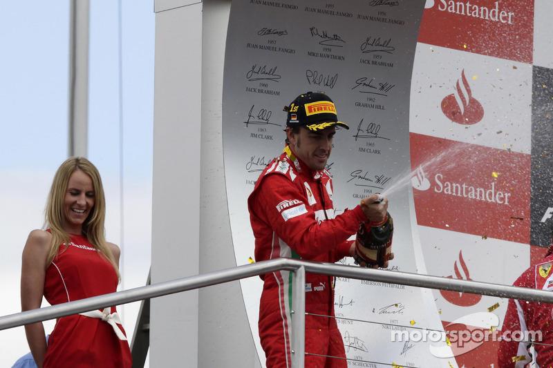 Winner Fernando Alonso, Scuderia Ferrari