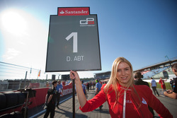 Grid Girl of Daniel Abt