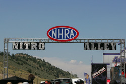 Entrance to Nitro Alley